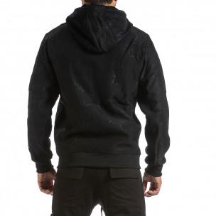 Ανδρικό μαύρο φούτερ X-Feel 2