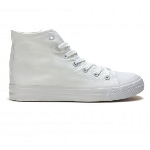 Ανδρικά λευκά sneakers Bella Comoda
