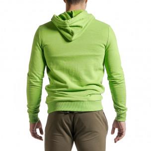Ανδρικό πράσινο φούτερ Clang 2