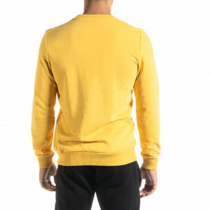 Ανδρική κίτρινη μπλούζα Basic 2