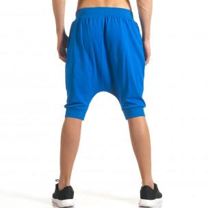 Ανδρικό γαλάζιο σορτς Uniplay  2
