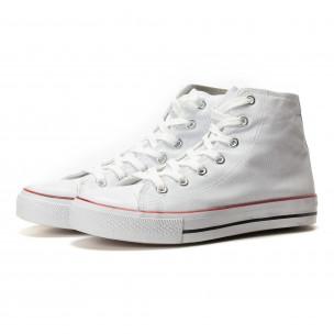 Ανδρικά λευκά sneakers Bella Comoda  2