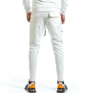 Ανδρική λευκή φόρμα 2Y Premium  2