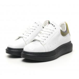 Ανδρικά λευκά sneakers Breezy  2