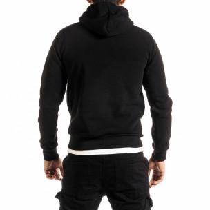 Ανδρικό μαύρο φούτερ Belman 2