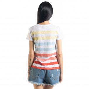 Γυναικεία ριγέ μπλούζα 2
