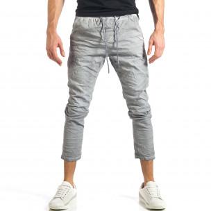 Ανδρικό γκρι παντελόνι Y-Two