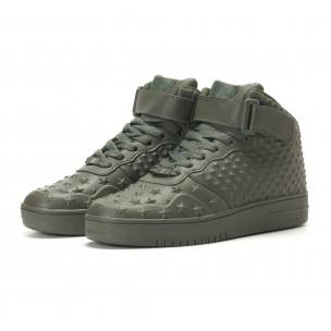 Ανδρικά πράσινα sneakers Kiss GoGo  2