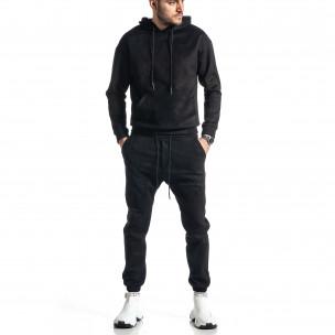 Ανδρικό μαύρο αθλητική φόρμα Duca Homme Duca Homme