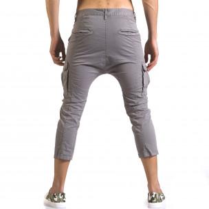 Ανδρικό γκρι παντελόνι XZX-Star 2