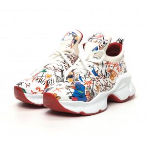Γυναικεία λευκά sneakers Bodrum 2