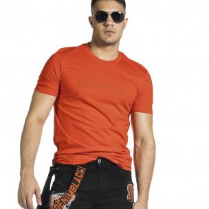 Ανδρική κόκκινη κοντομάνικη μπλούζα Breezy Breezy