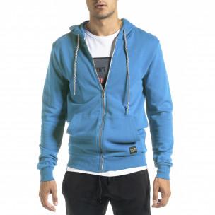 Ανδρικό γαλάζιο φούτερ Basic Clang