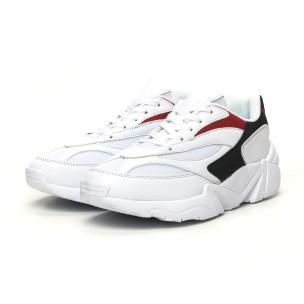 Ανδρικά λευκά αθλητικά παπούτσια  2
