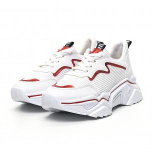 Γυναικεία λευκά sneakers Seribo
