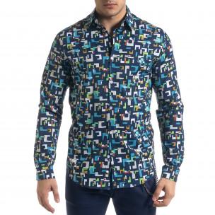 Ανδρικό πολύχρωμο πουκάμισο Open  2