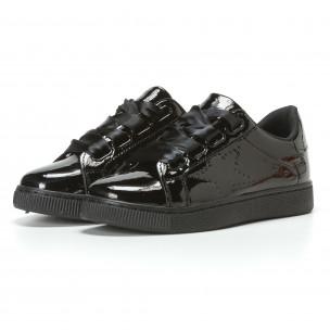 Γυναικεία μαύρα sneakers Mimsoga 2