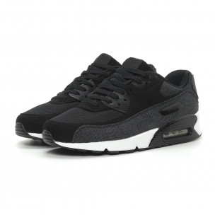Ανδρικά μαύρα denim αθλητικά παπούτσια Air 2