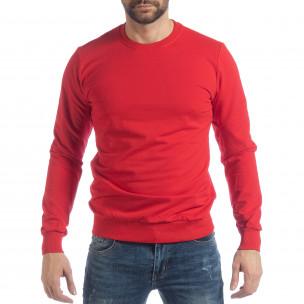 Ανδρική κόκκινη μπλούζα Basic