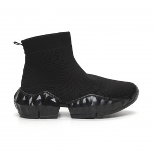 Еυέλικτα γυναικεία αθλητικά παπούτσια τύπου κάλτσα Via Giulia