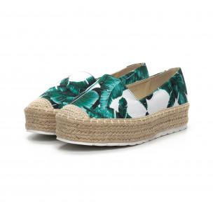 Γυναικείες πράσινες eσπαντρίγιες Sweet Shoes 2