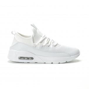 Ανδρικά λευκά αθλητικά παπούτσια Air ελαφρύ μοντέλο Niadi
