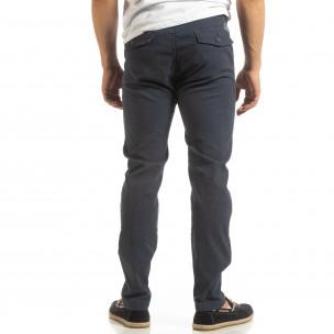 Ανδρικό μπλε παντελόνι CHINO  2