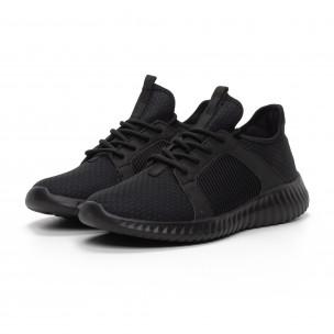 Ανδρικά μαύρα αθλητικά παπούτσια Niadi 2