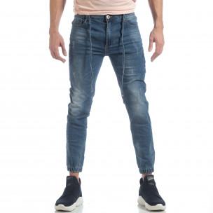 Ανδρικό γαλάζιο τζιν Jogger Jeans 2