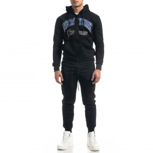 Ανδρικό μαύρο αθλητική φόρμα Kaidite
