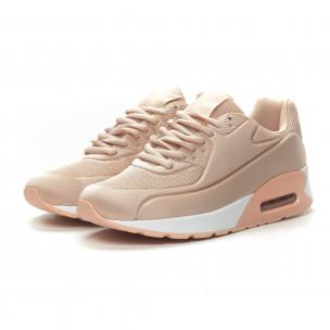 Γυναικεία ροζ αθλητικά παπούτσια με αερόσολα Kiss GoGo 2
