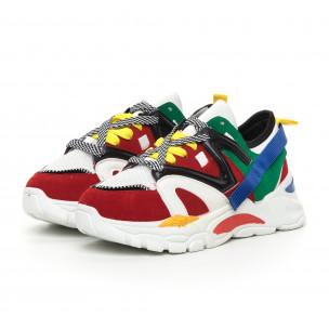 Γυναικεία Chunky αθλητικά παπούτσια πολύχρωμα  2