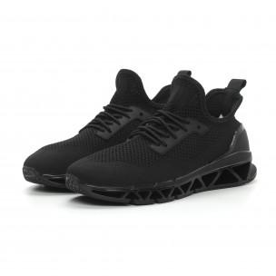 Ανδρικά μαύρα αθλητικά παπούτσια Reeca Reeca 2