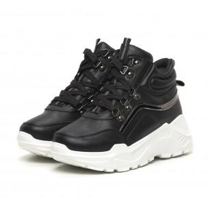Γυναικεία ψηλά αθλητικά παπούτσια Trekking design Fashion&Bella 2