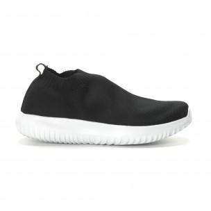 Ανδρικά χαμηλά μαύρα αθλητικά παπούτσια κάλτσα 2