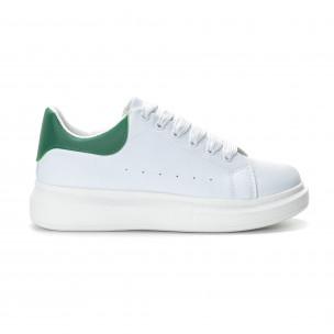 Ανδρικά λευκά αθλητικά παπούτσια FM FM