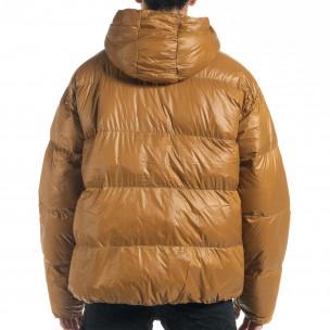 Ανδρικό χειμωνιάτικο μπουφάν με μεγάλες τσέπες 2