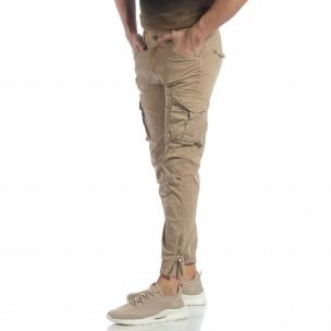 Ανδρικό χακί Cargo Jogger παντελόνι