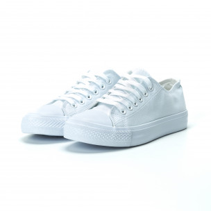 Γυναικεία λευκά sneakers    2