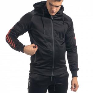 Ανδρικό μαύρο αθλητική φόρμα G.M.M 2