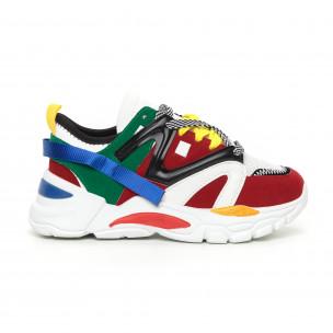 Γυναικεία Chunky αθλητικά παπούτσια πολύχρωμα