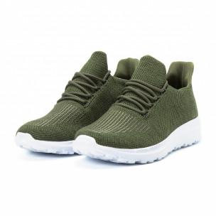 Ανδρικά πράσινα αθλητικά παπούτσια ελαφρύ μοντέλο  2