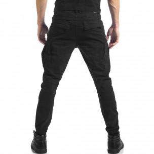 Ανδρικό μαύρο παντελόνι cargo Always Jeans  2