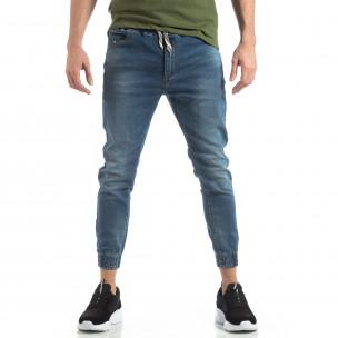 Ανδρικό γαλάζιο τζιν Jogger Jeans