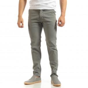 Ανδρικό γκρι παντελόνι CHINO