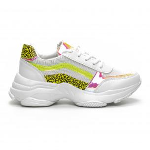 Γυναικεία λευκά αθλητικά παπούτσια Marquiiz