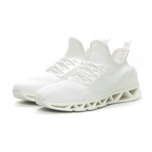 Ανδρικά λευκά αθλητικά παπούτσια Knife ελαφρύ μοντέλο 2