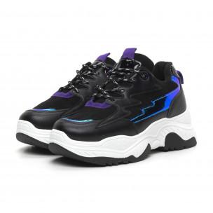Γυναικεία χιτ αθλητικά παπούτσια με νέον λεπτομέρειες 2