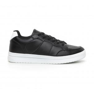 Ανδρικά skate sneakers σε μαύρο