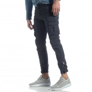 Ανδρικό μπλε cargo Jogger παντελόνι  Y-Chromosome